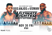 Uitslagen : The Ultimate Fighter 28 Finale : Heavy Hitters