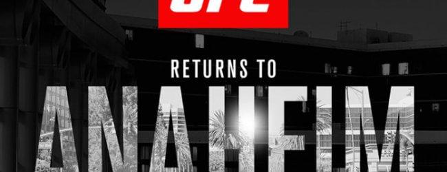 Twee Lightweight gevechten toegevoegd aan UFC 233 in Anaheim