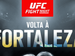 Justin Ledet treft Johnny Walker tijdens UFC Fortaleza in Februari 2019