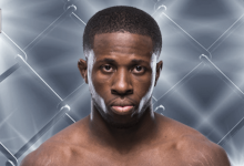 """Rudeboy"" Randy Brown treft Chance Rencountre tijdens UFC Brooklyn"