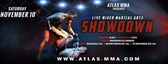 Uitslagen : Atlas MMA 4 : Showdown
