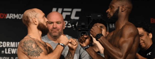 Poging 2 : Brian Kelleher vs. Montel Jackson tijdens UFC 232 in Las Vegas
