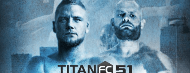 Nills van Noord treft Duitser Alexander Poppeck tijdens Titan FC 51 in Kazachstan