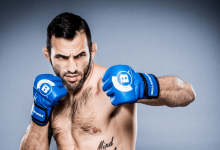 Derek Campos treft Sam Sicilia tijdens Bellator 212 in Honolulu, Hawaii