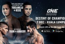 Uitslagen : ONE Championship 85 : Destiny of Champions