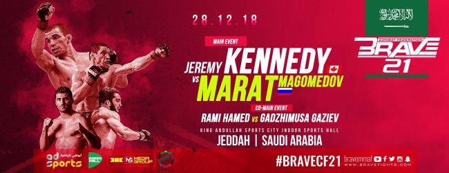 Uitslagen : Brave CF 21 : Kennedy vs. Magomedov