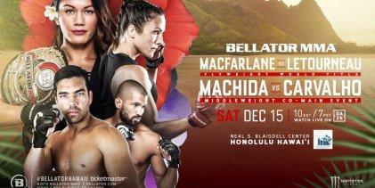 Uitslagen : Bellator 213 : Macfarlane vs. Létourneau