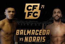 Uitslagen : CFFC 71 : Balmaceda vs. Norris