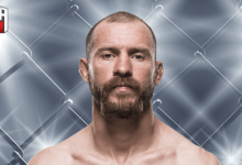 """Cowboy"" Cerrone treft Alexander Hernandez tijdens UFC on ESPN+ 1 in Brooklyn"