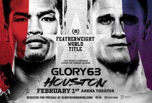 GLORY 63 in Houston krijgt titelgevecht tussen Kiatmookao en Adamchuk