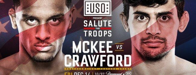 Ongeslagen AJ McKee keert terug tijdens Bellator 212 tegen Daniel Crawford