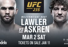 Veel gevechten van gecancelde UFC 233 card verplaatst naar andere evenementen