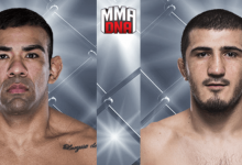 UFC Praag krijgt Welterweightclash tussen Michel Prazeres en Ramazan Emeev