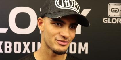 """Glory 62 interview met Tyjani Beztati: """"Ik wil de kampioen worden"""""""