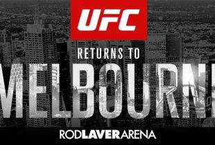 Australiër Jimmy Crute maakt opwachting tegen Ryan Spann tijdens UFC 234 in Melbourne