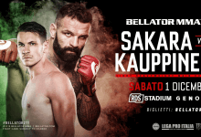 Uitslagen : Bellator 211 : Sakara vs. Kauppinen