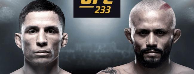 Snelle terugkeer Joseph Benavidez tegen Deiveson Alcantara Figueiredo tijdens UFC 233