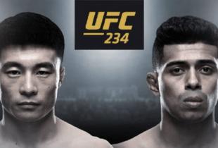 Wuliji Buren en Jonathan Martinez strijden voor eerste UFC winst tijdens UFC 234 in Melbourne