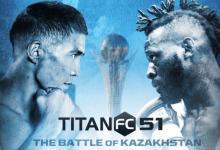 Uitslagen : Titan FC 51 : Nazarov vs. Brown