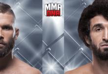 Jeremy Stephens treft Zabit Magomedsharipov tijdens UFC 235 in Las Vegas