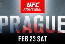 Carlo Pedersoli Jr. maakt opwachting tegen Dwight Grant tijdens UFC Praag