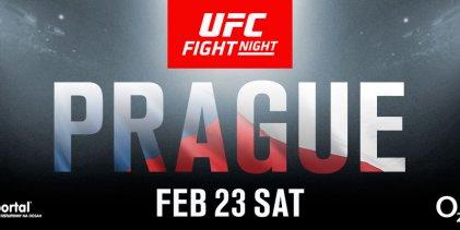 New Yorker Gian Villante treft Michal Oleksiejczuk tijdens UFC Praag