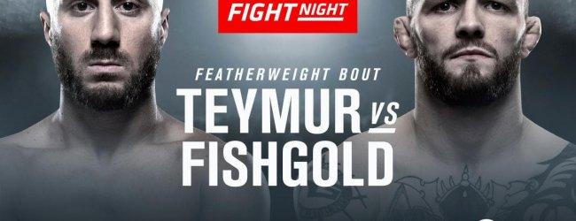 Europeaanse clash tussen Daniel Teymur en Chris Fishgold tijdens UFC Praag