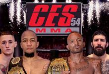 Uitslagen : CES MMA 54 : Andrews vs. Logan