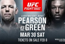 Ross Pearson vs. Desmond Green toegevoegd aan UFC on ESPN 2 in Philadelphia