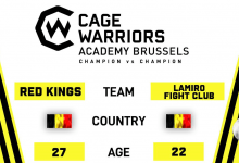 Desmae vs. Uvaysov is het nieuwe Main Event voor CW Academy Brussels + matchmaking