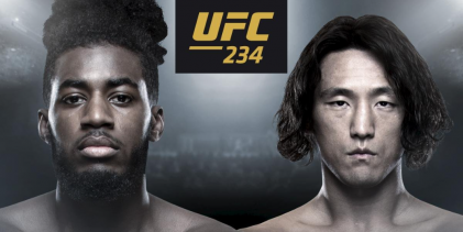 Devonte Smith vs. Ma Dong Hyun toegevoegd aan UFC 234 in Melbourne