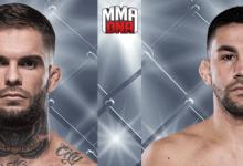 Voormalig Bantamweight Kampioen Cody Garbrandt treft Pedro Munhoz tijdens UFC 235