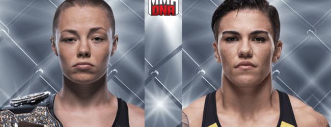 Rose Namajunas verdedigt Strawweight titel tegen Jessica Andrade tijdens UFC 237