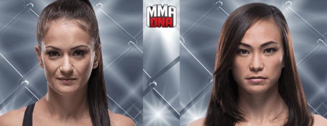 Fan favorites Karolina Kowalkiewicz & Michelle Waterson treffen elkaar tijdens UFC Philadelphia