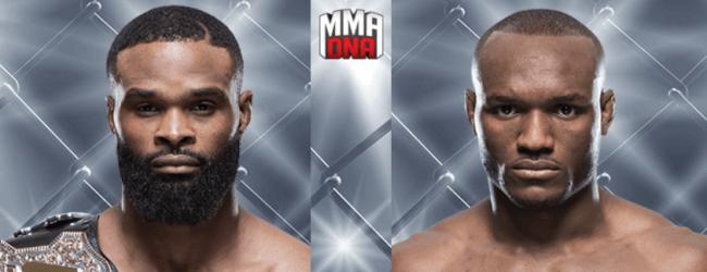 Tyron Woodley verdedigt titel tegen Kamaru Usman tijdens UFC 235 in Las Vegas