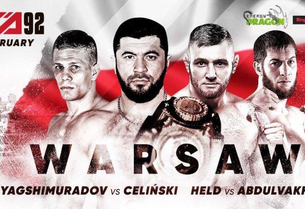 Uitslagen : ACA 92 : Warsaw