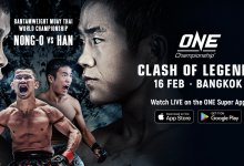Uitslagen : ONE Championship 88 : Clash of Legends