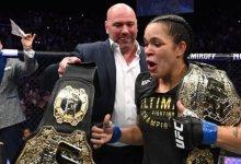 Mogelijk titelgevecht tussen Amanda Nunes en Holly Holm in de maak voor UFC 237