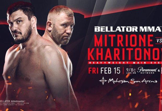 Uitslagen : Bellator 215 : Mitrione vs. Kharitonov