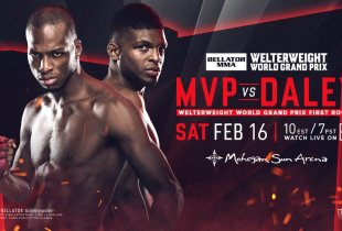Uitslagen : Bellator 216 : MVP vs. Daley