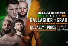 Uitslagen : Bellator 217 : Gallagher vs. Graham