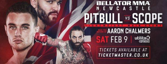 Uitslagen : Bellator Europe 1 : Pitbull vs. Scope