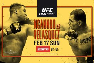 Uitslagen : UFC on ESPN 1 : Ngannou vs. Velasquez