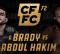 Uitslagen : CFFC 72 : Brady vs. Abdul-Hakim