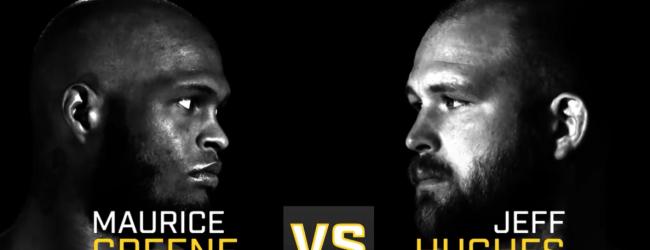 Blessuregeval zorgt voor rematch tussen Jeff Hughes en Maurice Greene tijdens UFC Wichita