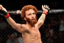 Violent Bob Ross treft Steven Peterson tijdens UFC Nashville