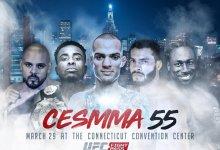 Uitslagen : CES MMA 55 : Wells vs. De Jesus