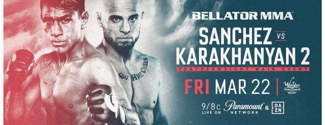 Uitslagen : Bellator 218 : Sanchez vs. Karakhanyan 2