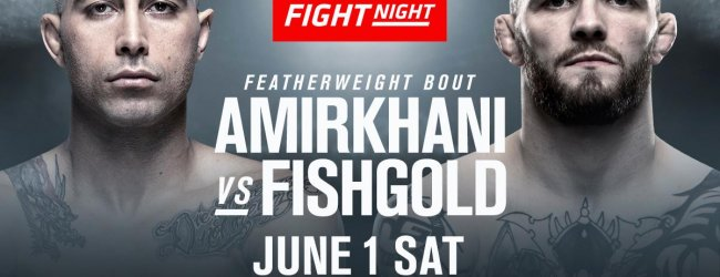 Makwan Amirkhani vs. Chris Fishgold toegevoegd aan UFC Stockholm