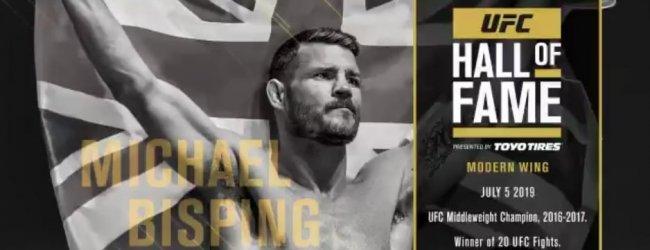 Michael Bisping komt in de UFC Hall of Fame